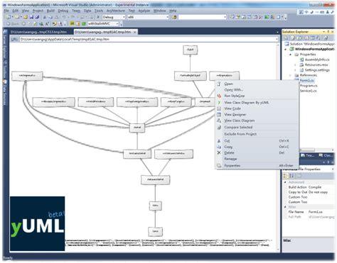 visual studio uml diagram generator how to create a c class diagram in visual studio 2015