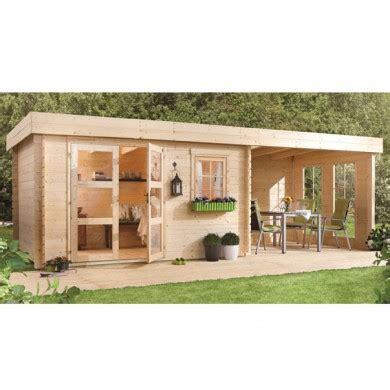 Cabanon De Jardin 237 by Abri Lillevilla 283 Luoman 28 Mm 8 5 M2 340x250 Cm Auvent