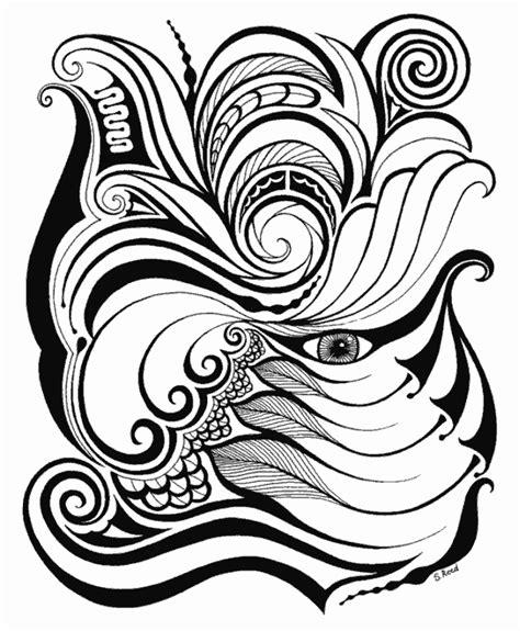 doodle tribal tribal flower pattern doodle doodler