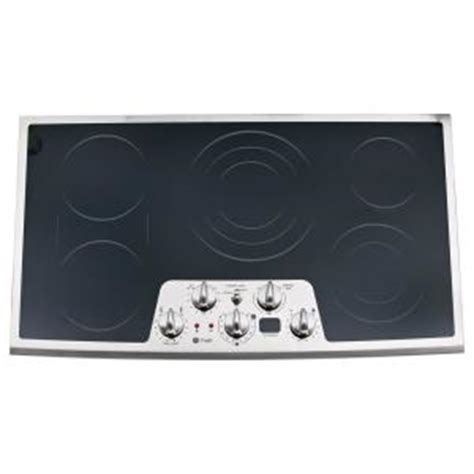 Ge Profile Electric Cooktop Ge Profile Cleandesign 36 In Smooth Surface Radiant