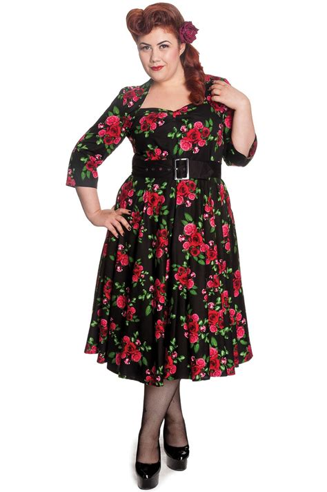 50er jahre retro swing langarm petticoat kleid - Swing Kleid Langarm
