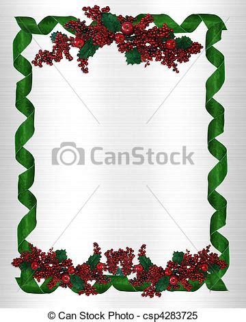 cornice natalizie cornice bordo natale vacanza bacche bordo verticale
