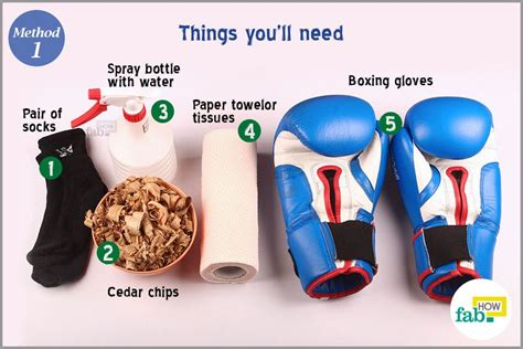 How To Make Paper Boxing Gloves - how to keep boxing gloves clean and odor free fab how