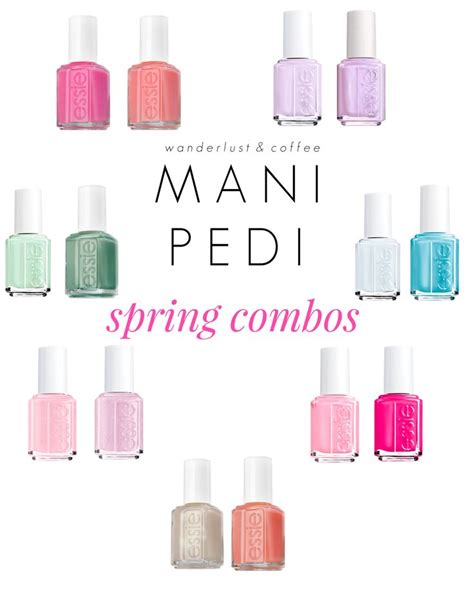 spring 2015 mani oedi combos 72 best mani pedi combos images on pinterest cute nails