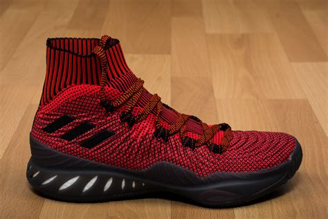 Basketball Shoes Adidas Explosive 2017 Primeknit Black Ori adidas explosive 2017 primeknit shoes basketball sporting goods sil lt