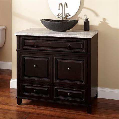 Bathroom Vanities Lowes Bathroom Black Wooden Bathroom Vanities With Black Bowl
