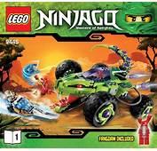 LEGO Fangpyre Truck Ambush Instructions 9445 Ninjago