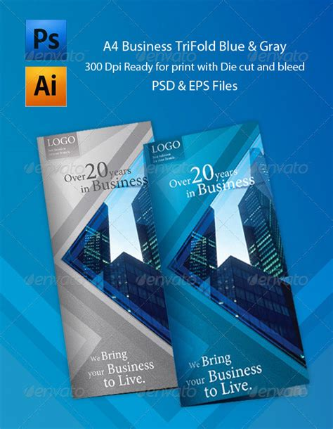 tri fold brochure templates psd 25 best brochure design templates 56pixels part 2