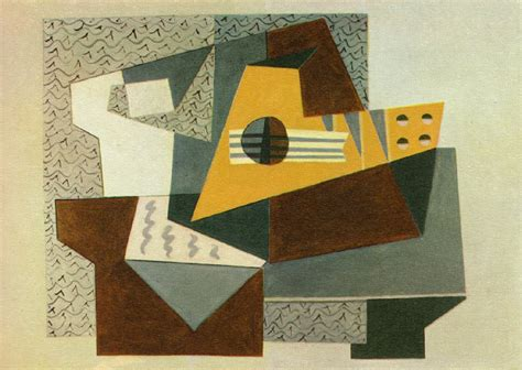 Picasso Synthetischer Kubismus by Guitar 1920 Pablo Picasso Wikiart Org