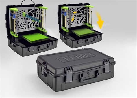 tome 3d printer portable self contained 3d printer coming soon
