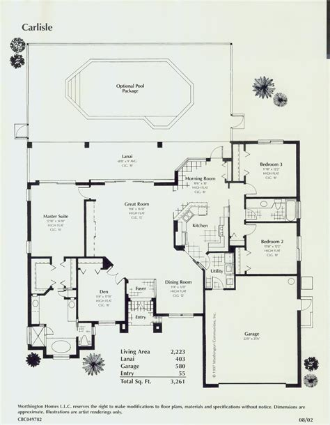 florida style floor plans house plans home designs room