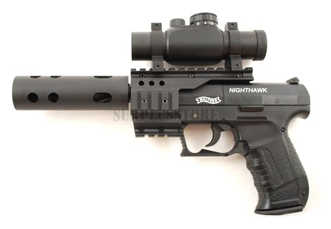 Airsoft Gun Walther Cp99 Umarex Walther Cp99 Nighthawk 177 Pellet Co2 Air Pistol