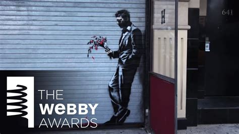 banksys artist in residence for 18th annual webby banksy s new york city artist in residence from the