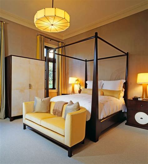 yellow master bedroom mustard and chocolate covered rooms ideas inspiration
