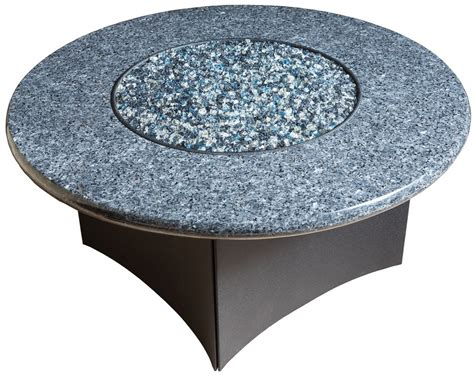 oriflamme gas pit table blue pearl granite