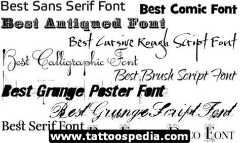 tattoo fonts for men generator fonts for elaxsir