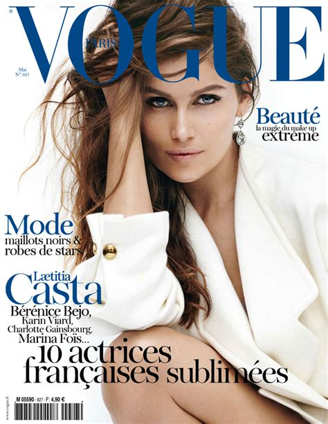 vogue the covers updated laetitia casta for vogue paris may 2012