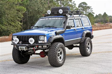 jeep cherokee baja top 5 vehicles to build your off road dream rig