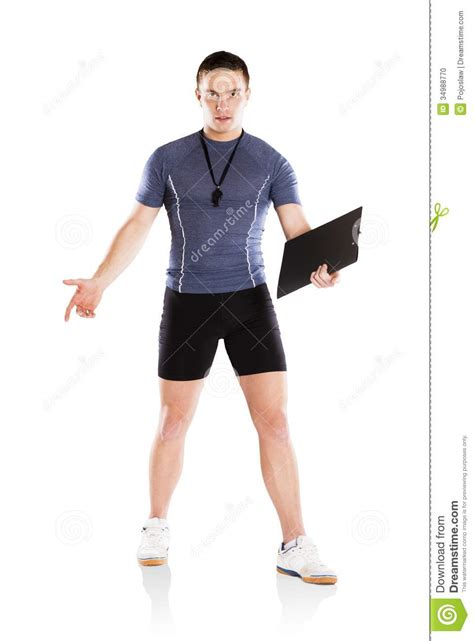 exercise couch fitness coach stock photo image 34988770