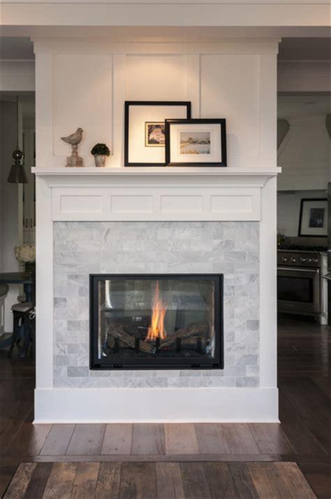 subway tile fireplace marble subway tile white trim fireplace interior design