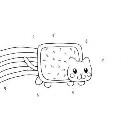 nyan cat coloring pages printable nyan cat coloring pages cooloring