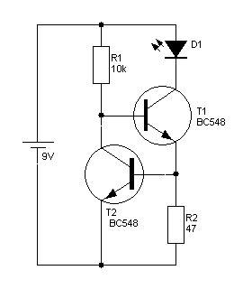transistor bc548c bc546c bc550c konstantstromquelle immer das gleiche