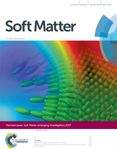 soft matter soft matter