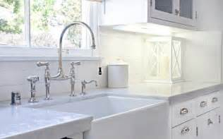 Farmhouse Faucet Kitchen Form Versus Function A Farmhouse Sink And That Perrin Rowe Bridge Mixer Faucet