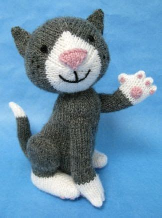 how to knit a kitten knitted cat