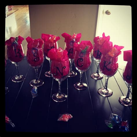 diy bachelorette diy bachelorette wine glasses wedding ideas