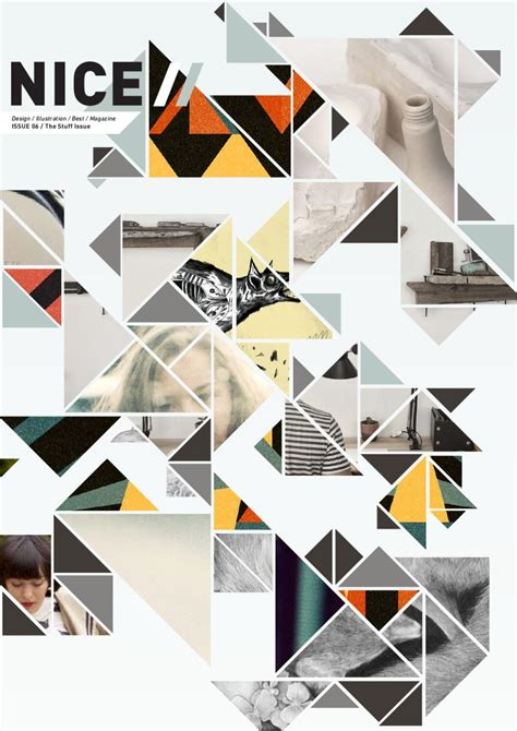 graphic design best layouts nice magazine issue 6 by ross drakes issuu