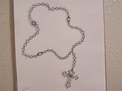 image gallery rosary drawings