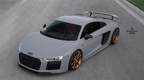nardo grey r8 not so subtle upgrades for a nardo gray audi r8 plus adv