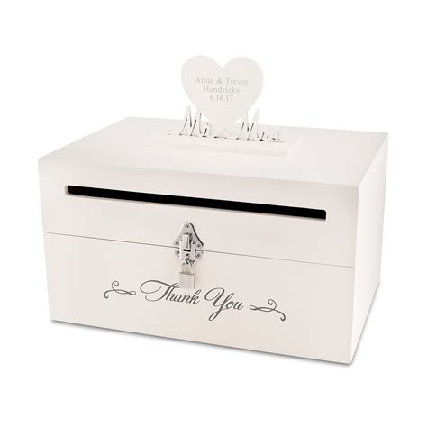 box wedding wedding card slot box