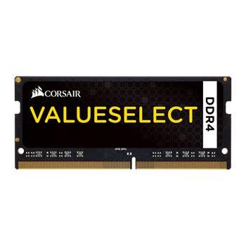 Sodimm Corsair Ddr4 8gb 2133 Mhz Cmso8gx4m1a2133c1 corsair 16gb value select ddr4 sodimm 2133mhz ram memory kit 2x 8gb ln69017