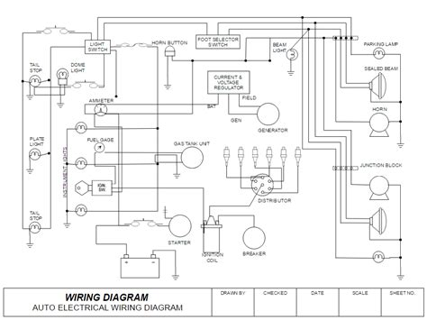 electrical block diagram software technical drawing free technical drawing or