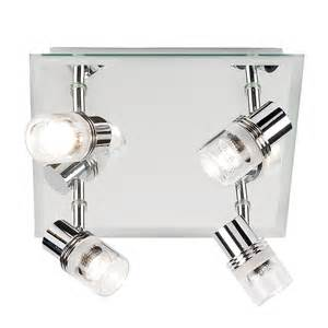 Enluce Bathroom Lighting The Endon Enluce Bathroom 4 Plate Spotlight