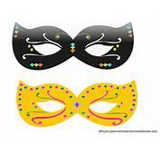 Originales Y Bonitas M&225scaras De Carnaval Para Imprimir