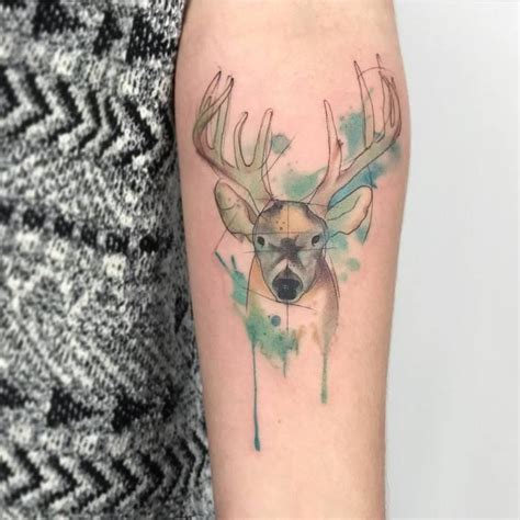 deer watercolor tattoo 41 best images about watercolor tattoos on