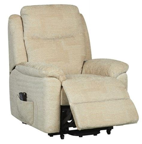 Electric Armchairs by Evesham Fabric Electric Dual Motor Riser Recliner Chair
