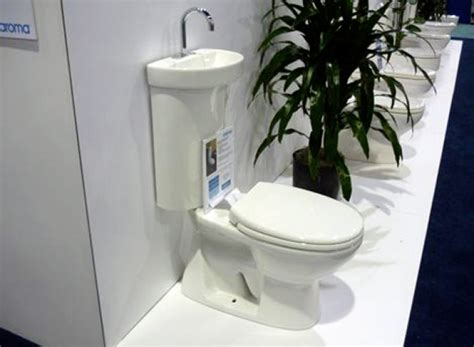 water sink combo toilet sink combo with greenbuild toilet caroma pic home