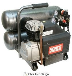 senco pc1131 2 1 2 hp 4 3 gallon tank electric air compressor