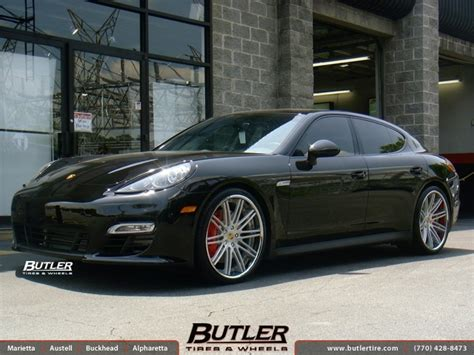 Porsche 22 Inch Rims Porsche Panamera With 22in Asanti Cx504 Wheels Exclusively