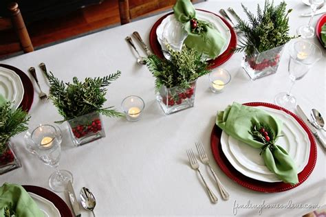 christmas table settings 6 simple christmas table ideas perfect for last minute