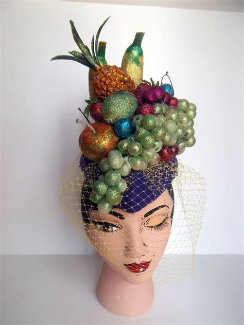 fruit hat time to bust it out chef bizzaro millinery