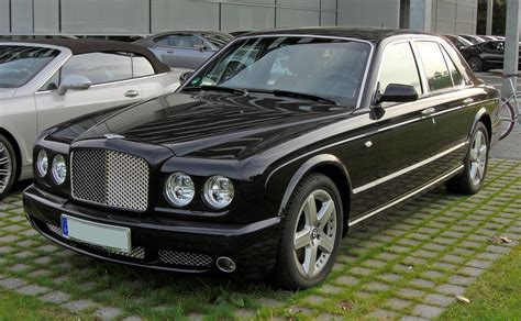 Bentley Arnage T File Bentley Arnage T 20090720 Front Jpg Wikimedia Commons