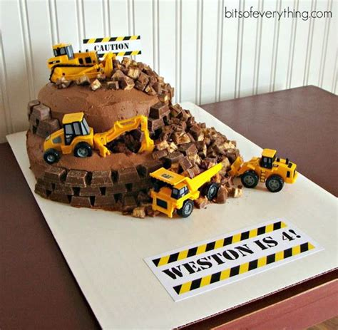 themes black diggers 40 construction themed birthday party ideas hative