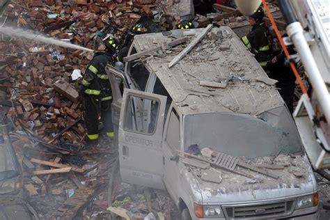 ufficio collocamento roma nord esplosione tra manhattan e harlem ecco le prime immagini