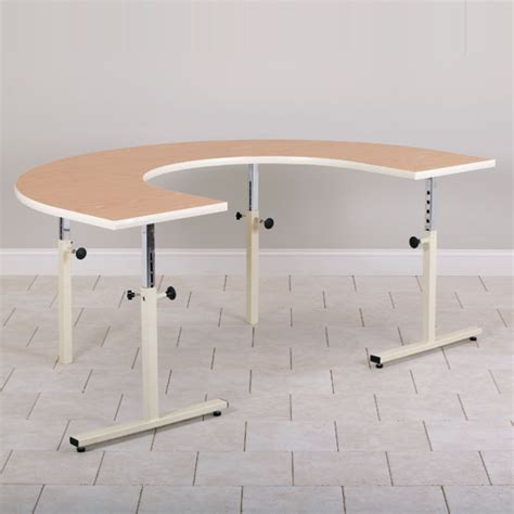 u shaped table work activity tables physical therapy