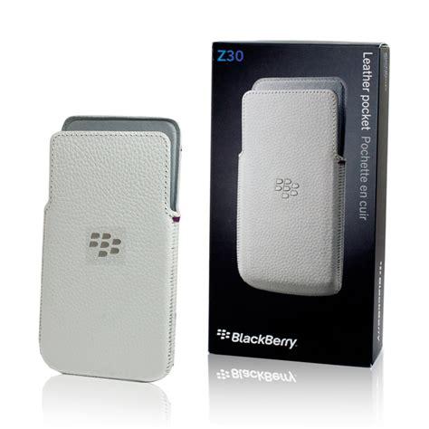 Cover Blackberry Z30 Original genuine blackberry z30 leather cover pocket white acc 57196 002 ebay